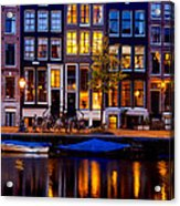 Amsterdam At Night IIi Acrylic Print