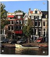 Amsterdam Canal Acrylic Print