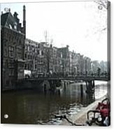 Amsterdam Canal II Acrylic Print