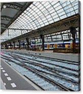 Amsterdam Central Station Acrylic Print