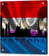 Amsterdam City Acrylic Print