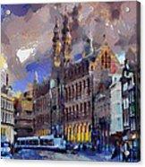 Amsterdam Daily Life Acrylic Print