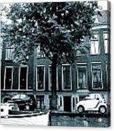 Amsterdam Electric Car Acrylic Print