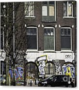 Amsterdam Graffiti Acrylic Print