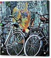 Amsterdam Icons Acrylic Print