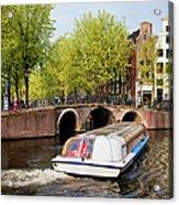 Amsterdam In Spring Acrylic Print