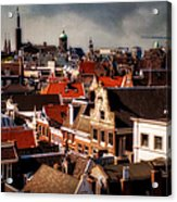 Amsterdam Roofs. View From Metz Cafe Acrylic Print