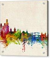 Amsterdam The Netherlands Skyline Acrylic Print
