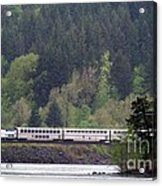 Amtrak Westbound Acrylic Print