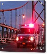 Amubulance  Acrylic Print