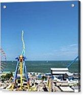 Amusement Park View Acrylic Print