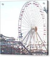 Amusement Rides At Wildwood Nj Acrylic Print