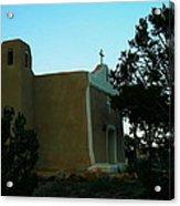 An Adobe Church In New Mexico Acrylic Print