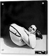 An Advertising Contortionist Acrylic Print