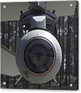 An Agm-65 Maverick Missile Mounted Acrylic Print