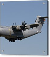 An Airbus Military A400m In Flight Acrylic Print