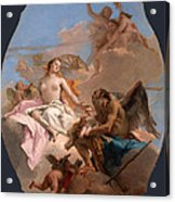 An Allegory With Venus And Time Acrylic Print