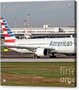 An American Airlines Boeing 767 Acrylic Print