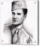 An American Hero Acrylic Print