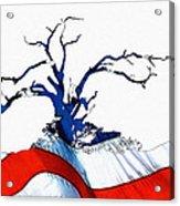 An American Tree Acrylic Print