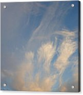 An Angel Appeared Acrylic Print