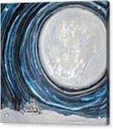 An Apparition Of The Moon  Acrylic Print