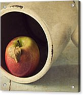 An Apple A Day... Acrylic Print by Amy Weiss