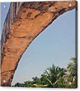 An Arch In Cozumela Acrylic Print