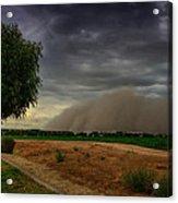 An Arizona Dust Storm  Acrylic Print
