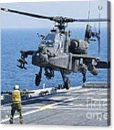 An Army Ah-64d Apache Helicopter Acrylic Print