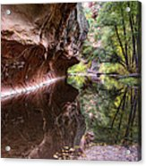 An Autumn Day In West Fork  Acrylic Print by Saija  Lehtonen