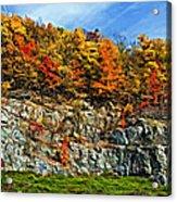 An Autumn Day Painted Acrylic Print