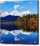 An Autumn Evening On Lake Chocorua Acrylic Print