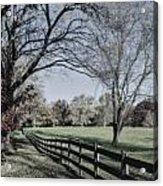 An Autumn Stroll Acrylic Print by Joe McCormack Jr