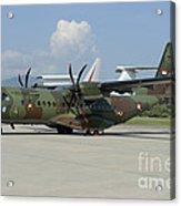 An Eads Casa C-295 Aircraft Acrylic Print