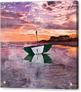 An Enchanting Evening Acrylic Print by Betsy Knapp