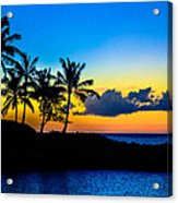 An Evening At Ko Olina Acrylic Print