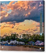 An Evening In Dc Acrylic Print