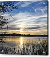 An Evening In Lakes Country Acrylic Print