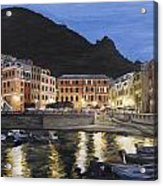 An Evening In Vernazza Acrylic Print