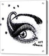 An Eye For Art Acrylic Print