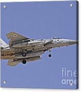 An F-15a Baz Of The Israeli Air Force Acrylic Print
