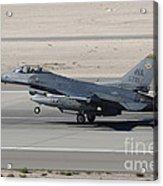 An F-16c Fighting Falcon Taking Acrylic Print