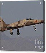 An F-5n Aggressor Aircraft Of The U.s Acrylic Print
