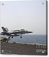 An Fa-18c Hornet Takes Acrylic Print by Stocktrek Images