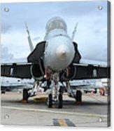 An Fa-18d Hornet On The Ramp At Marine Acrylic Print