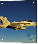 An Fa-18f Super Hornet Displays Acrylic Print