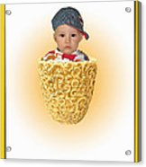 An Image Of A Photograph Of Your Child. - 03 Acrylic Print