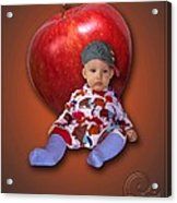 An Image Of A Photograph Of Your Child. - 04 Acrylic Print