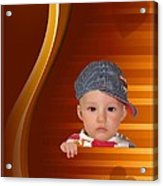 An Image Of A Photograph Of Your Child. - 05 Acrylic Print